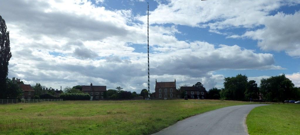 England's tallest maypole