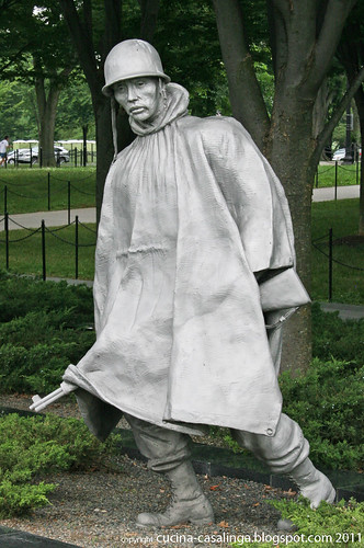 Korea Einzelne Figur