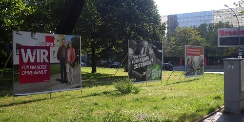 Wahl-Plakate