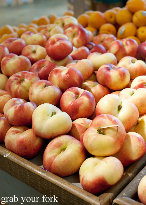 donut nectarines at whole foods market flagship store supermarket groceries austin texas