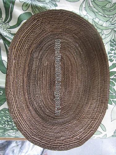 Handmade - Cardboard Bowl (2) by fah2305