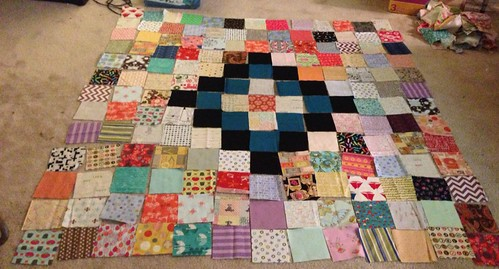 Scrap Vomit for 100 Quilts for Kids #1