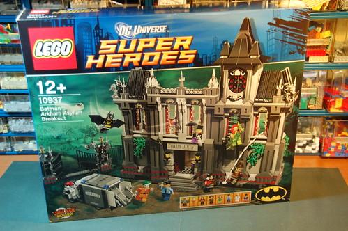 10937 Batman Arkham Asylum Breakout