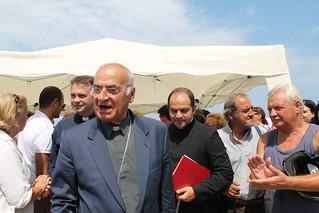 Monsignor Padovano e Laterza