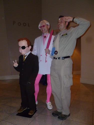 Pete White, Billy Quizboy & Rimmer