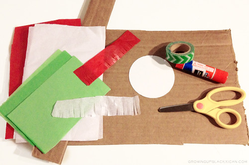 diy mini fiesta pinata supplies