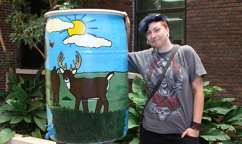 State Fair Rain Barrel Raffle Winner