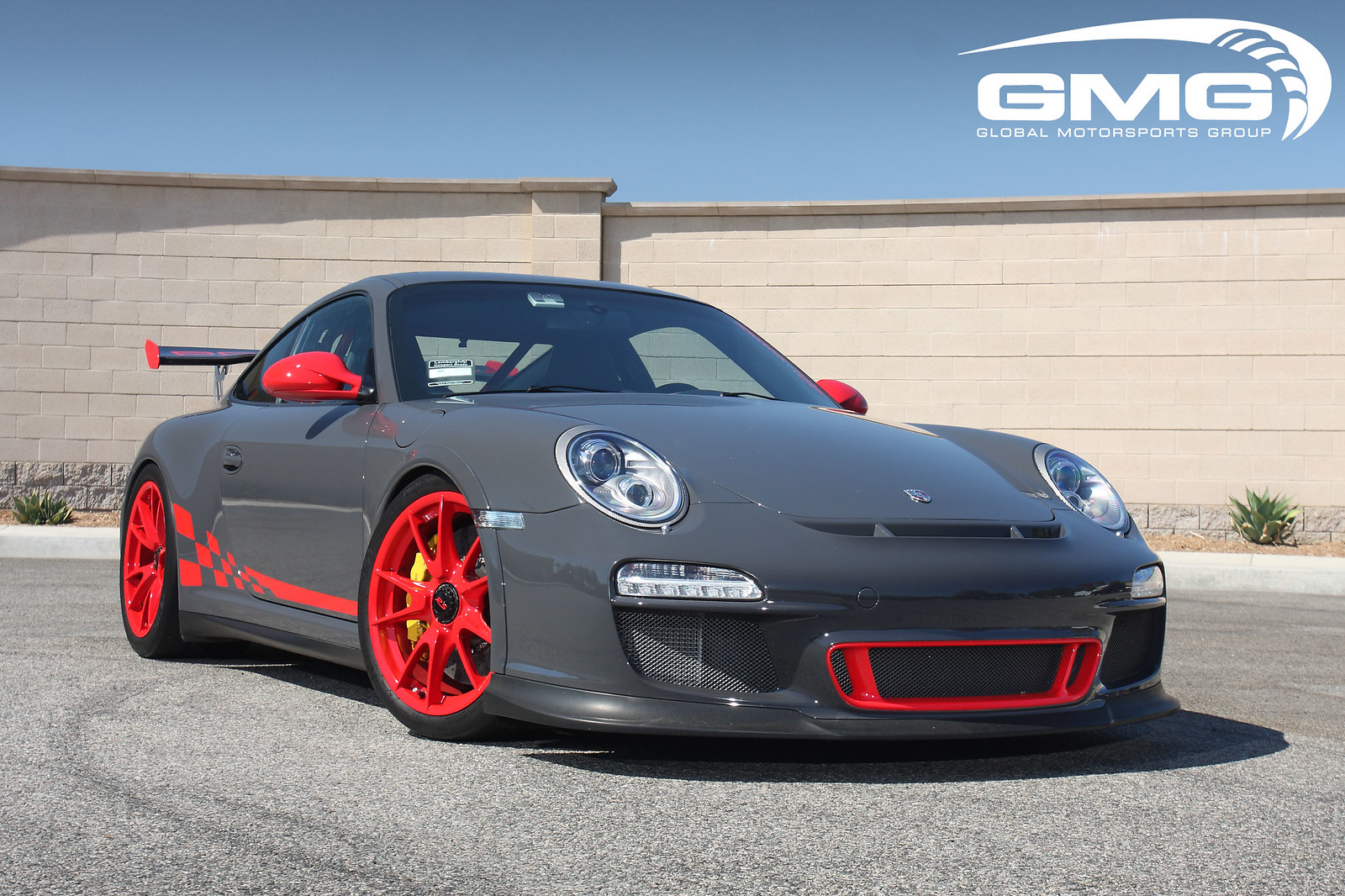 Gmg Racing Porsche 997 2 Gt3rs W Gmg Rsr Style Oval