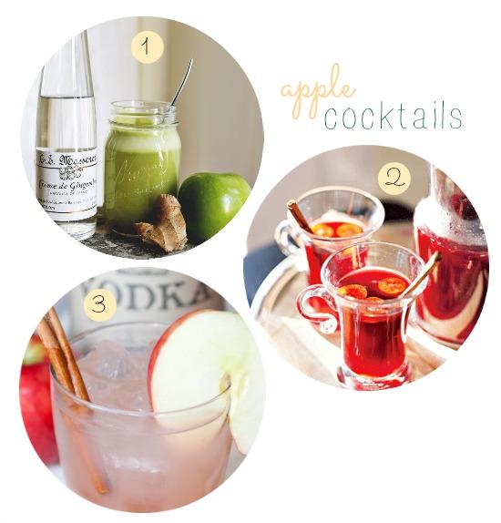 apple cocktails