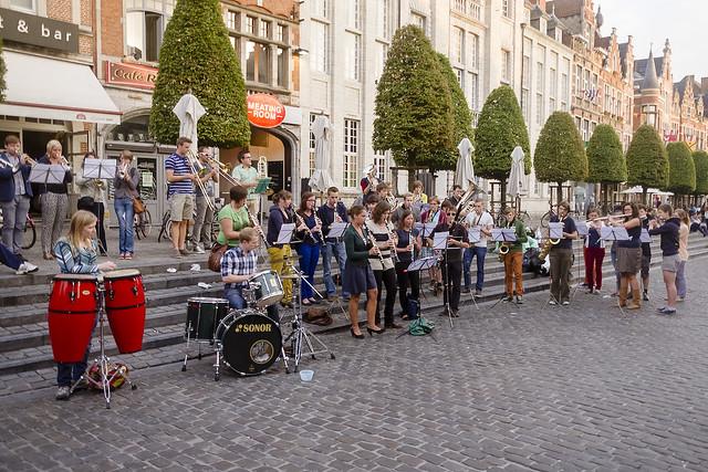 UHO Flashmob op de Oude Markt
