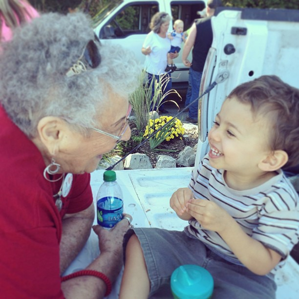 A boy and his Grandmaw #latergram