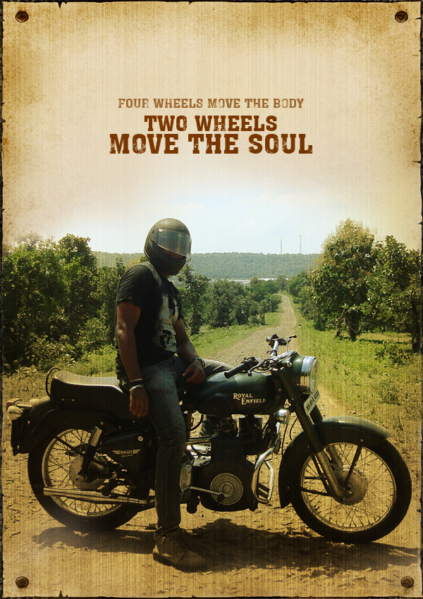 Two Wheels Move The Soul