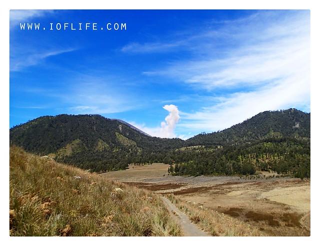 Pemandangan dari bukit nicholas