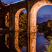 Knaresborough Viaduct Evening by Andrew-Hawkes