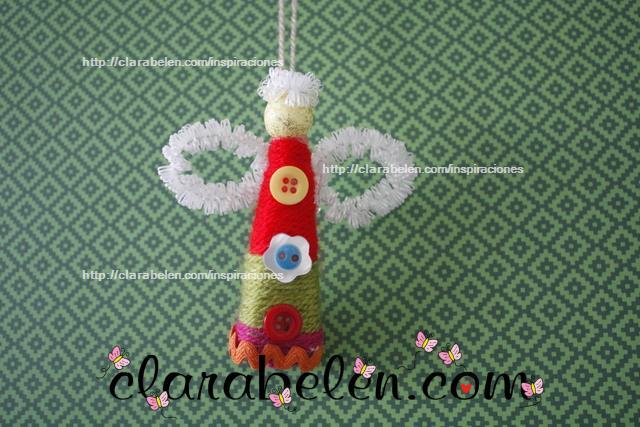 Angelitos hechos con lana y palillos nuevos modelos