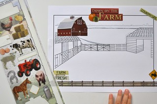 Creating Farm Scene Stickers