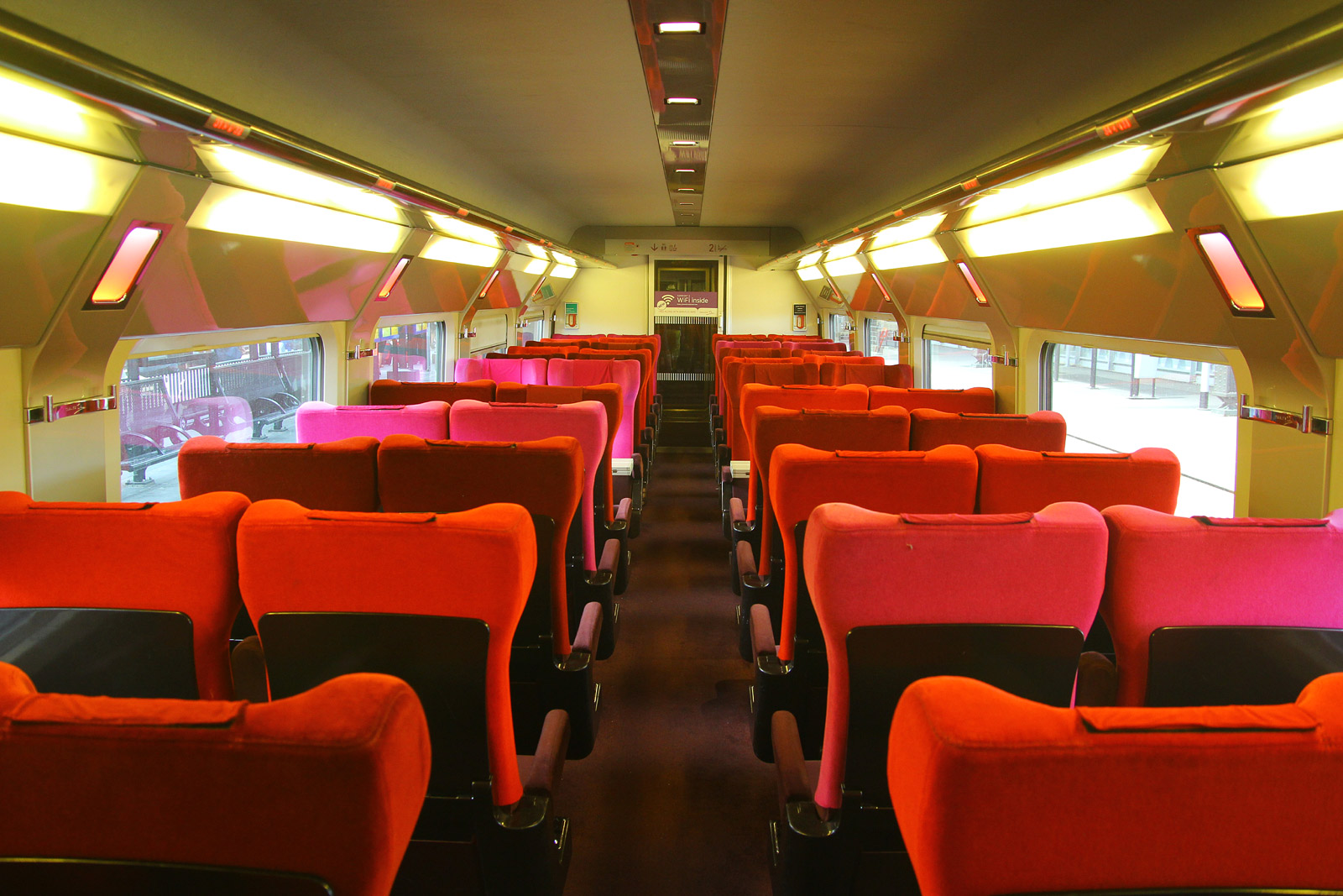 Thalys Interior Shot, Amsterdam, August 5th 2013
