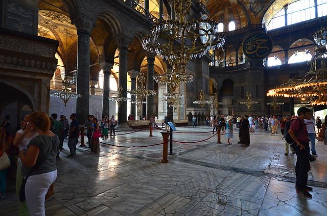 Interior de Santa Sophia