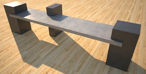 Gorgeous precast concrete bench, concept design and production by 108.167.189.34