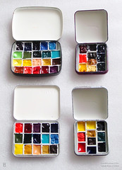 Watercolor Paint Boxes