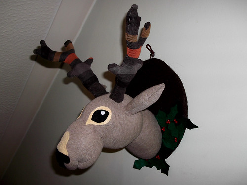 Sock Deer Taxidermy
