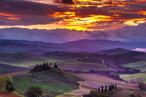 Sunrise Val'Orcia