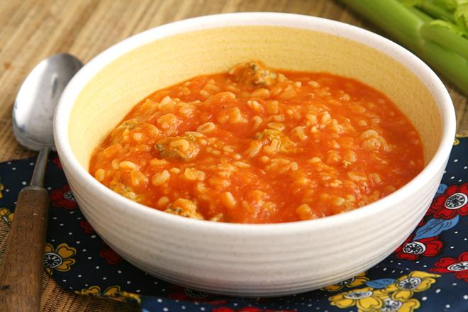 tomato soup meatballs 6