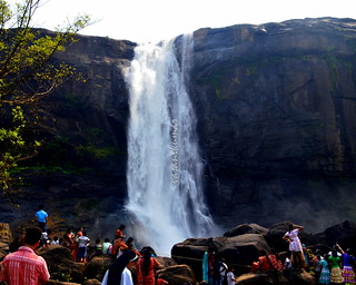 Athirapally Waterfall, Kerala, India.