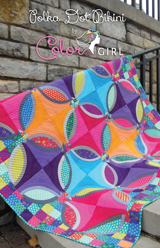 fabricsandflowers.blogspot.com by ColorGirlQuilts