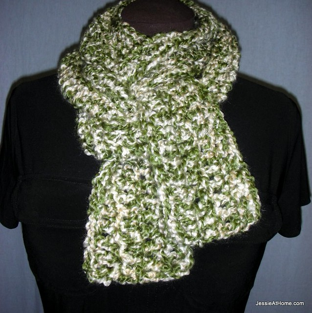 Crochet Pattern For Scarf With Homespun Yarn : Leo Scarf: Chunky Weight ~ Free Crochet Pattern Jessie ...