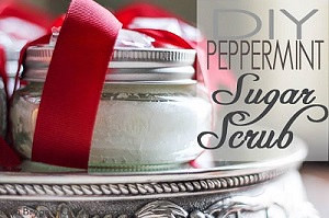 Peppermint Sugar Scrub - Nice!