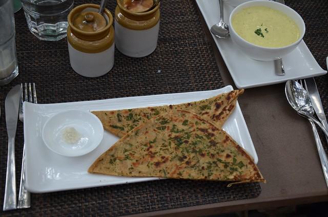 Cafe Lota: parantha