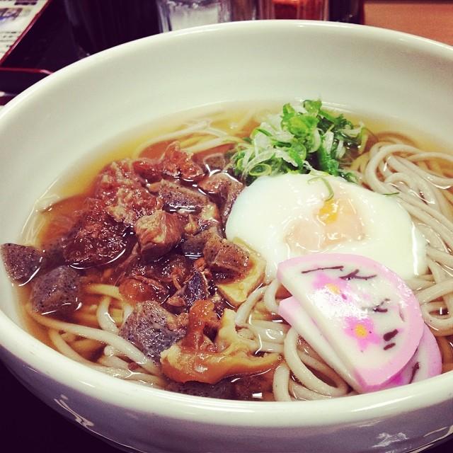 もちむぎ麺もぐもぐ。つるつるした食感の冷麦、兵庫県神崎郡市川町が名産。オススメ。