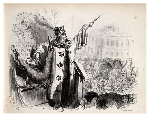 014-Los pavos y los gansos-La Ménagerie parisienne, par Gustave Doré -1854- Fuente gallica.bnf.fr-BNF