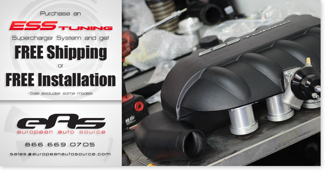 ·· eas | Buy an ESS Supercharger & Get FREE INSTALLATION