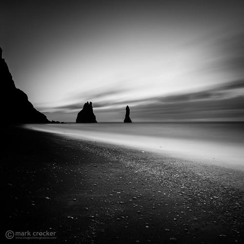 longexposure sea beach sunrise dawn coast iceland south vik volcanicash dyrholaey 10stop