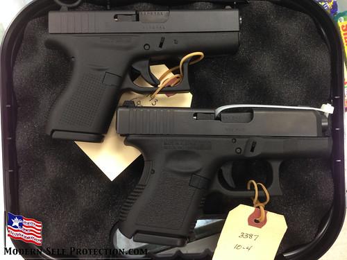 Glock 42 and Glock 26