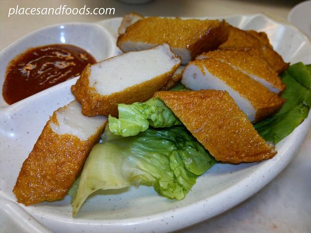 chef kit fried fish cake