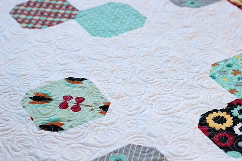 Nordika Polar Vortex Quilt Tutorial by Jeni Baker