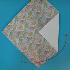 สอนวิธีพับกระดาษเป็นช้าง (แบบของ Fumiaki Kawahata) 004