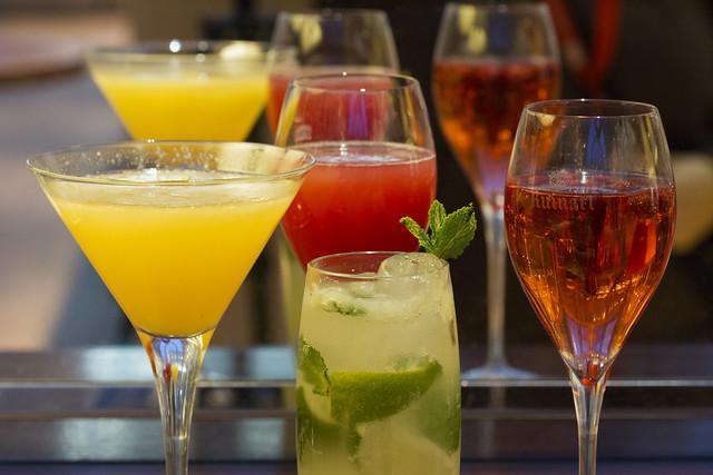 Royal Opera House cocktails © Royal Opera House Restaurants 2014
