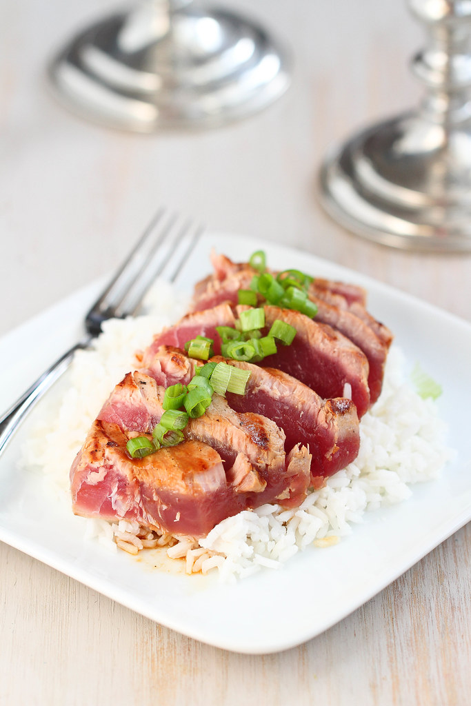 Impress your special someone on Valentine's Day with this easy, grilled ahi tuna recipe.