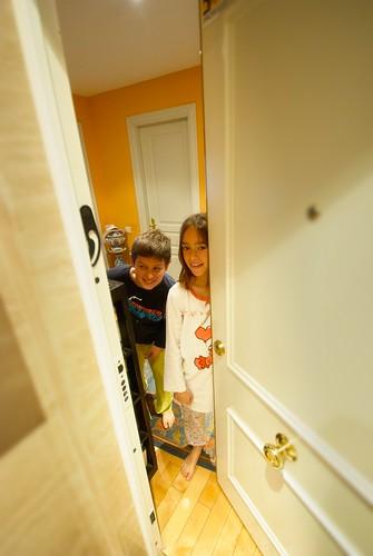 Niños, guardianes del hogar