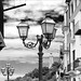 on the streets of Cefalu in Sicily by Bill Skiles