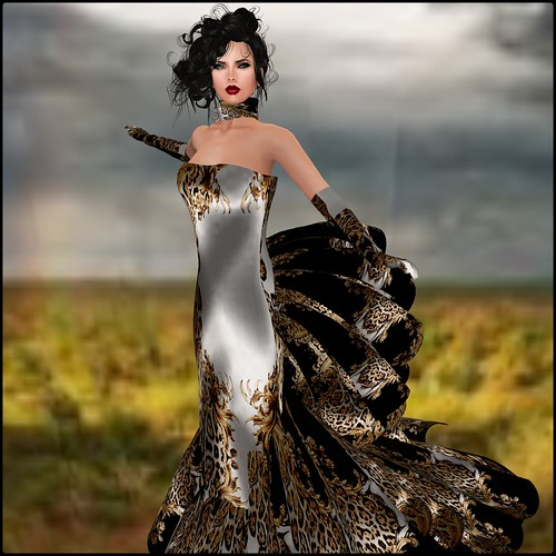 KV Sim - Glam Dreams - Roar Gown by Orelana resident