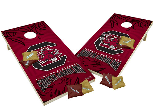 South Carolina Gamecocks Custom Cornhole Boards XL
