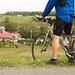 À vélo, vous verrez de magnifiques paysages agricoles. / On your bike, you'll see stunning agricultural scenes.