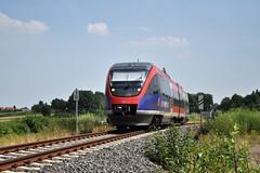 643 213 / DB Euregiobahn // Eschweiler-Weisweiler / Juli 2013
