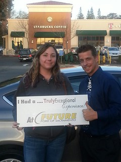 Congrats to Michaela McCarthy of Stockton, CA on getting her 2014 Ford Fusion from Thomas Sober! Thank you very much!