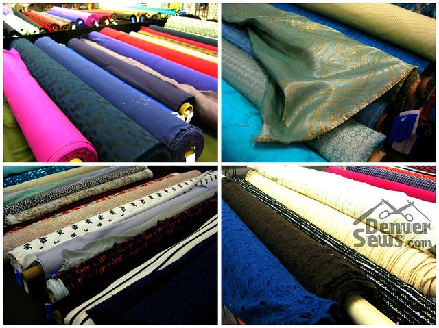 Designer Fabrics - Coatings, Brocades and Knits